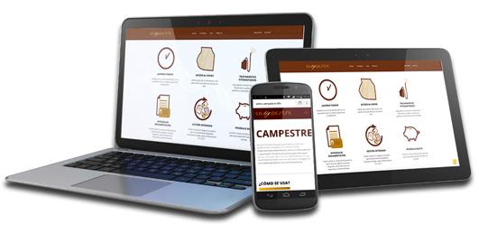 Campestre aplicación multidispositivo